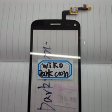 Sensor Phone Replacement Parts For Wiko Dark Moon Touch Screen Digitizer Panel ; Free Shipping