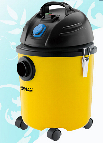 Best Seller Little Yellow Robot Hoover Water and Dust Vacuum Cleaner 20L Free Shipping Top Quality(China (Mainland))