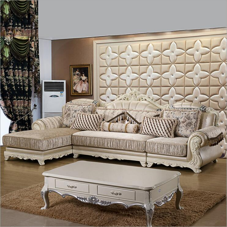 living room furniture modern fabric sofa European sectional sofa set a1261(China (Mainland))