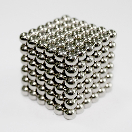 Hot sale! Free Shipping! size: 10mm 216pcs/lot Buckyballs,Neo cube,Magnetic Balls, neodymium/ color:Sliver(China (Mainland))