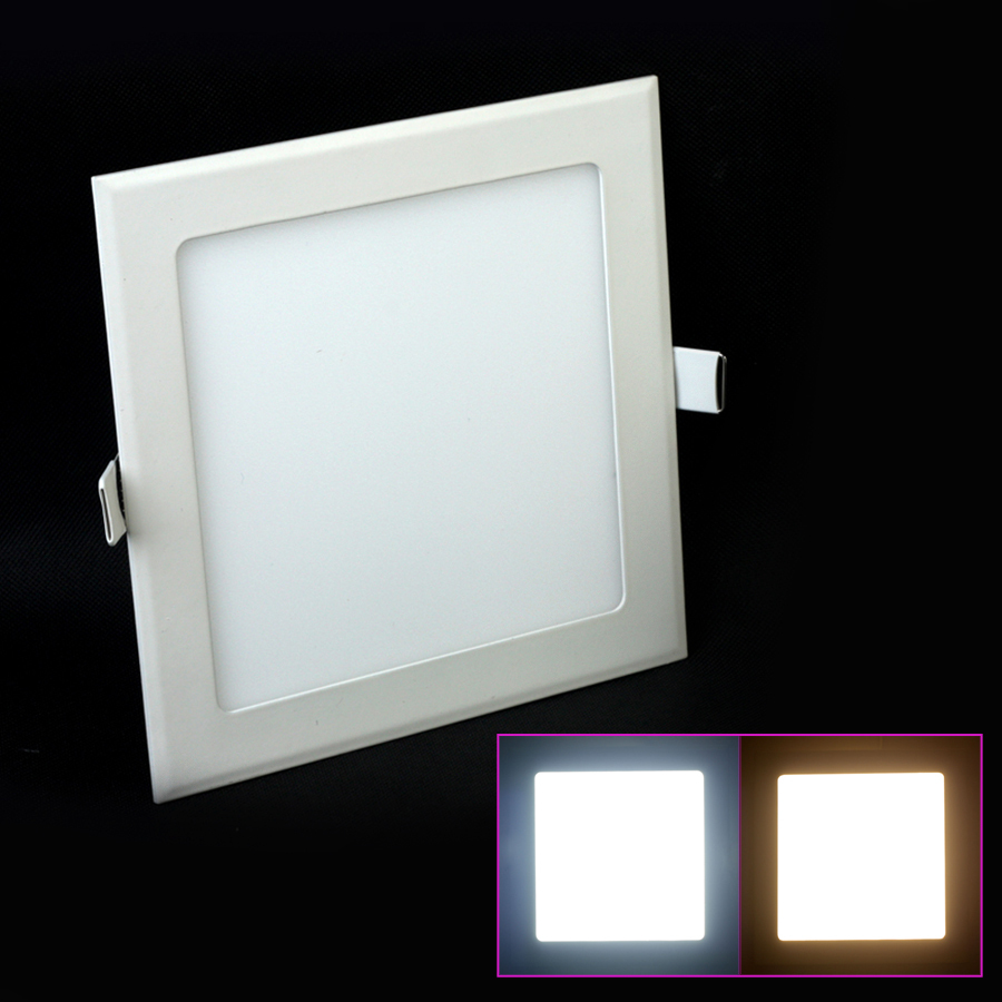 3W/4W/6W/9W/12W/15W/25W LED Panel Light AC85-265V dimmable Ceiling Warm/Cool White Indoor Lighting - Professional Manufacturer store