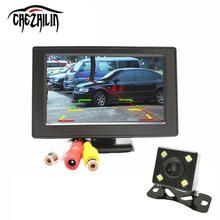4.3 inch Color LCD Car Monitor LED Night Vision Car Rearview Reversing Camera Parking Backup Monitor System(China (Mainland))