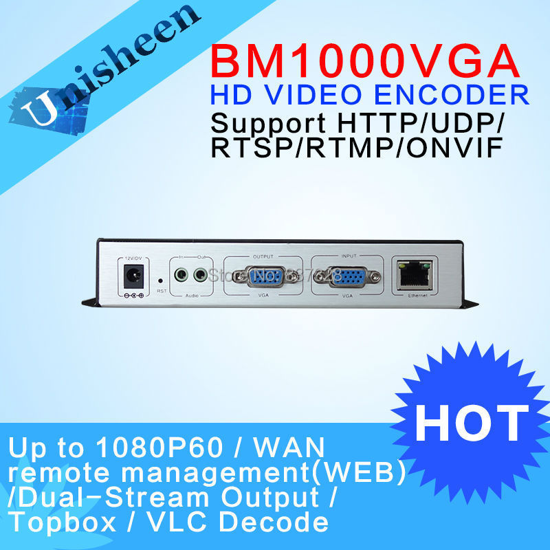 MPEG-4 AVC H.264 VGA Encoder campus boardcasting Replace HD Video Capture Card(China (Mainland))