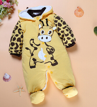PPY-16,drop shipping red/yellow/beige newborn baby clothes cotton baby clothing rompers for newborns baby boy girl clothes(China (Mainland))