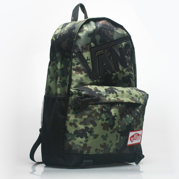2016 new VANS Camo backpack and travel leisure Street schoolbag <br><br>Aliexpress