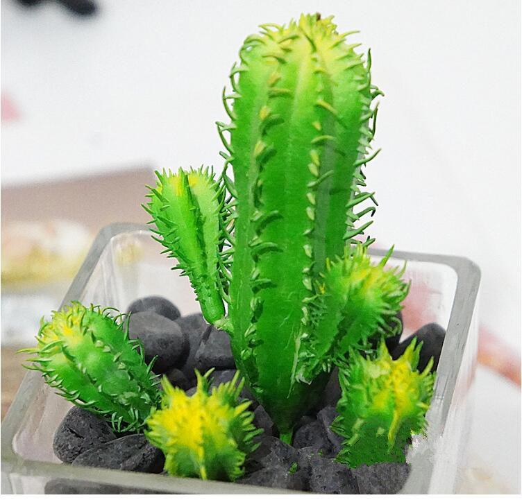 Excellente qualit cactus artificiel promotion achetez des for Mini cactus artificiel