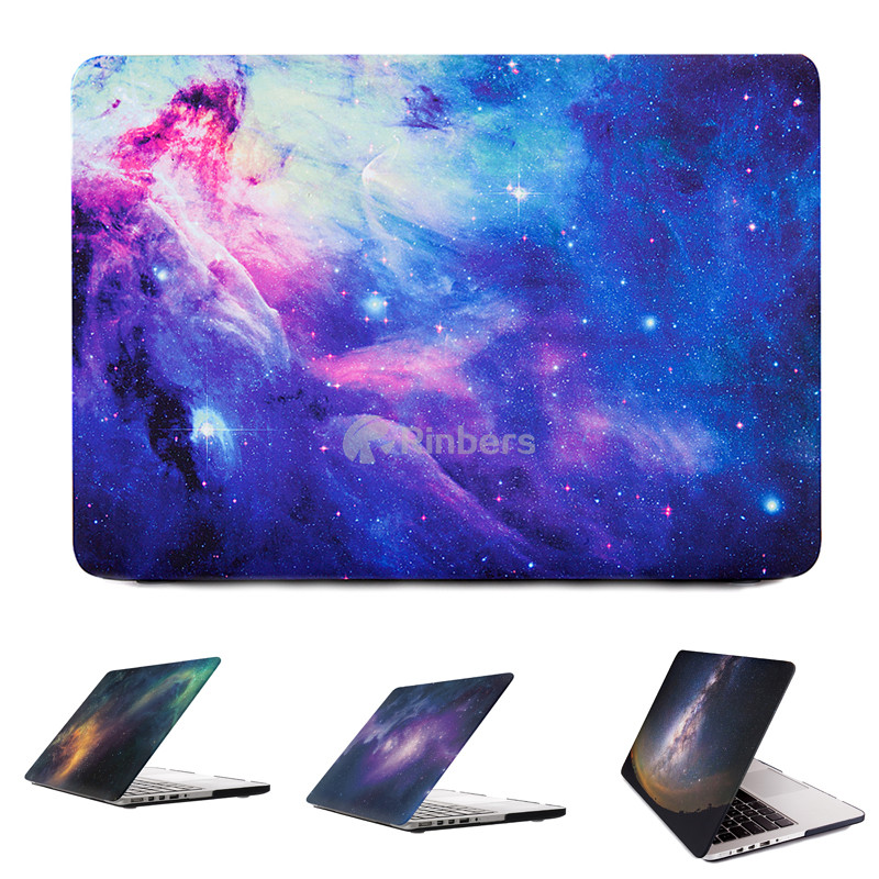Star Sky Hard Shell Case for Galaxy Apple Macbook Air Pro 11 12 13 15 Inch Retina Laptop Bag Sleeve Shell Latest Trend Best Sell(China (Mainland))