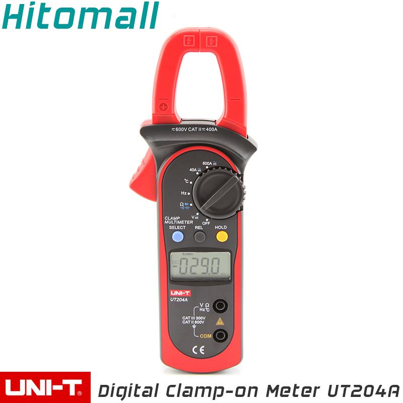 Ac Dc Current Clamp On Meter : Professional uni t digital clamp multimeters auto range