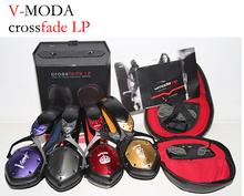 V-MODA Crossfade LP Over-the-Ear DJ Hi-Fi Headsets Brand 3.5mm V-MODA DJ Rock Headphones Powerful With Volume Control Mic