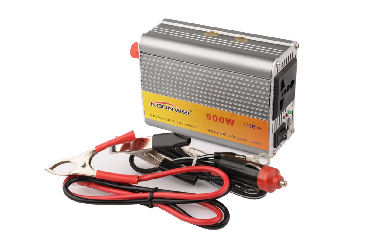 New Car inverter 500W Transverter Auto Modified Sine Wave Power Charger DC 12V to AC 220v load Converter USB Cook Meals YA074-SZ(China (Mainland))