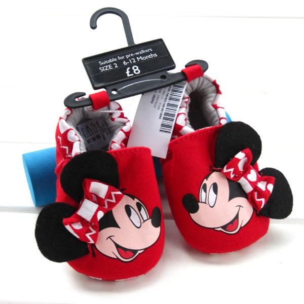 В розницу! мультфильм красный малыша обувь детская обувь для девочек цветок печати ...