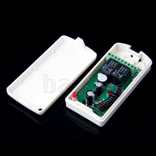 2 Button 433MHZ Receiver Controller For Wireless RF Remote Control Learning/Fixed Code Jog/Inter/Self-lock A634(China (Mainland))