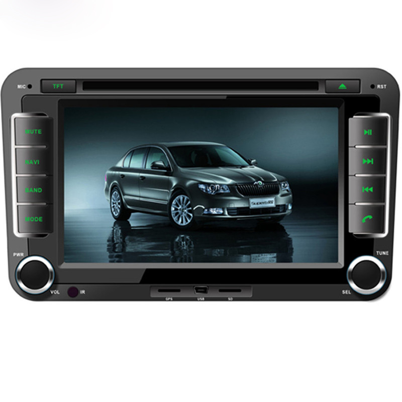 Wince 6.0 Car Audio Player For Skoda Octavia/Fabia /Superb GPS+Radio+FM/AM+RDS+BT+AUX IN/OUT+1080P+USB/SD+Steering Wheel Control(China (Mainland))