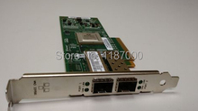 Fiber card for QLE8142 10Gb  Dual port well tested working