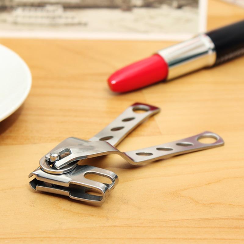 2017 Fashion New Stainless Steel Toenail Scissor Clipper Cutter Ingrown Nail Pedicure Kit Hot Sale