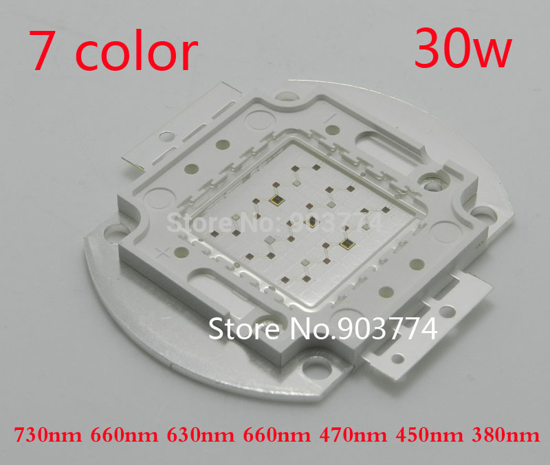 2014 Real Hydroponics 1pcs/lot Full Spectrum 30w Led Grow Chip ,integrated Light Source ,diy for Cultivate /vegetative/flowering<br><br>Aliexpress