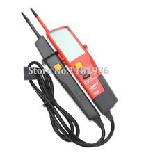 Uni-t UT18D Auto rango de voltaje Teter pluma Digital del metro de voltio con LCD luz de fondo fecha Hold RCD prueba y autoinspección detectores