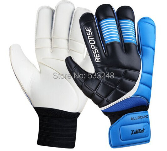 2015 guantes de portero football Response goalkeeper gloves With fingerstall goalie soccer professional bola de futebol gloves(China (Mainland))