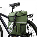 ROSWHEEL 15L Water Repellent Durable Mountain Road Bicycle Bike Bags Cycling Double Side Rear Rack Tail