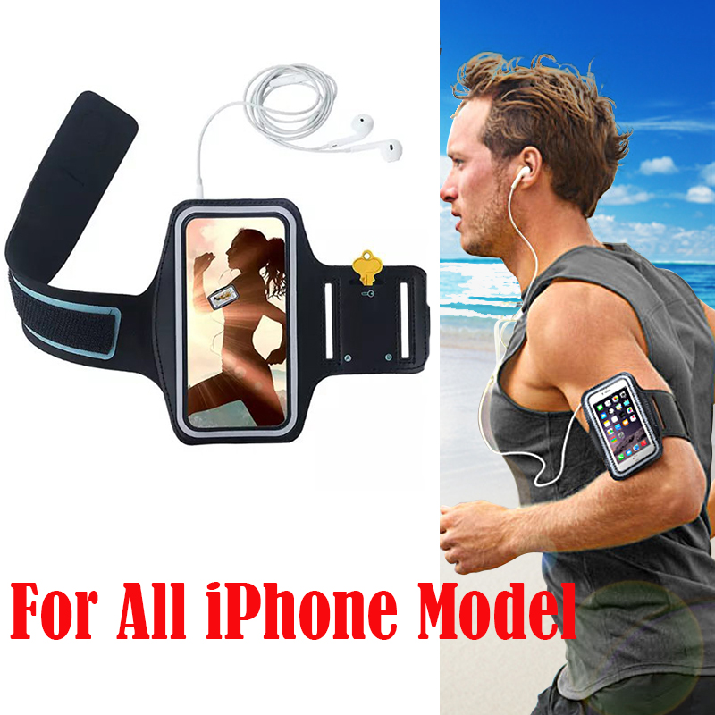 4S 5S 5C 5G 6S 6S Plus Waterproof Hand Bag Running Arm Band Leather Case For iphone Mobile Phone Holder Pouch Belt GYM Cover(China (Mainland))