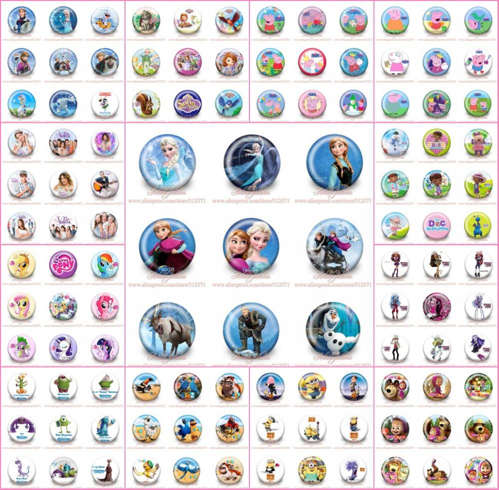 Здесь продается  Free express shipping !!!!!900pcs/lot Buttons Pins Badges with random distribution<fashion pin badge<party gift  Камера и Сумки