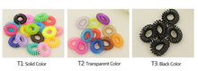 10pcs Telephone Line Gum Elastic Hair Band For Girl Rope candy color fashion Tie Hair Accessory