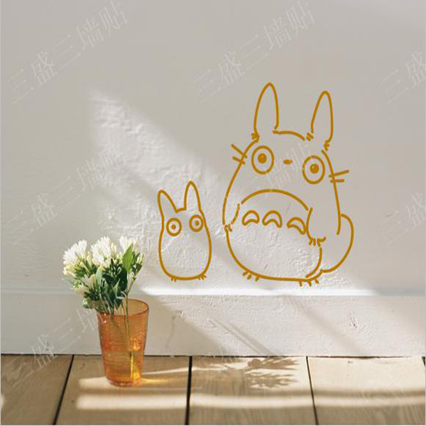 Kids Room Wall Stickers Large Baby Child Wall Decals Bedroom Removable Cartoon Animals Cute Galesaur Home Decoration Wall Art