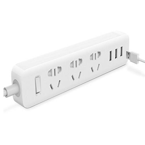Original Xiaomi Powerstrip Outlet Socket 3 USB Standard Extension Socket Plug Multi-purpose Smart Power Strip Home Electronics(China (Mainland))