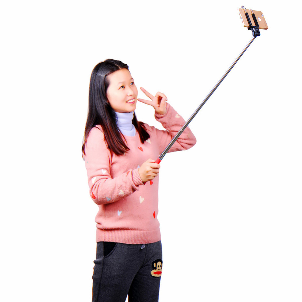 image for Universal Wired Selfie Stick Monopod For IOS Andriod Smartphone Self H