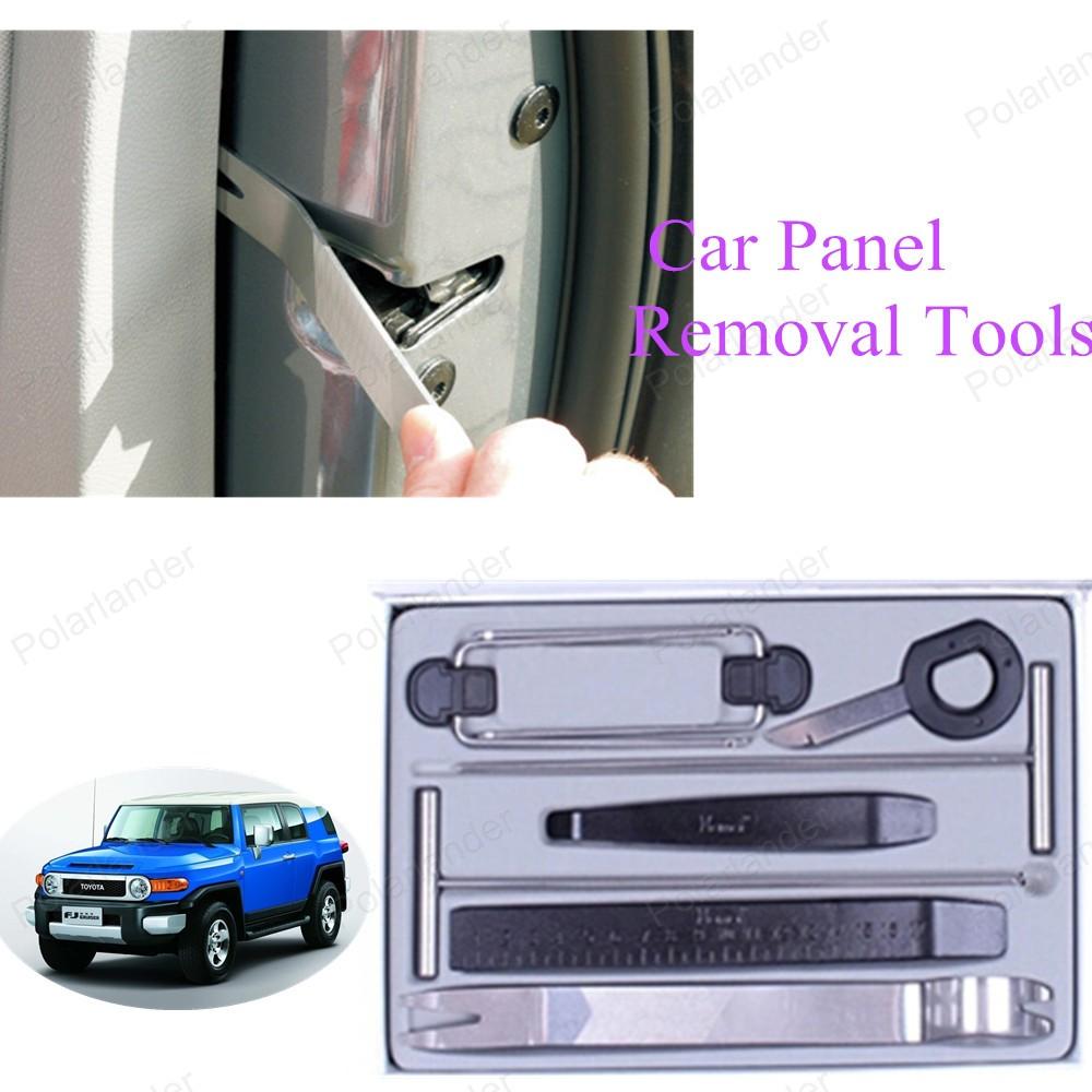 Новый ремонт комплект комплект инструментов автомобиля средство для удаления панели 9 шт./компл. бесплатная доставка