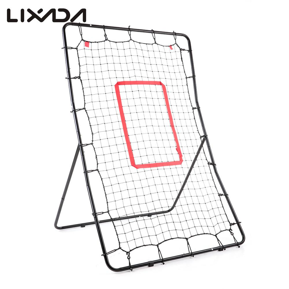 "Lixada 36*55"" Youth Baseball Pitch Back Rebound Net Return Baseball Training Net Throwing Pitching Fielding Baseball Trainer(China (Mainland))"