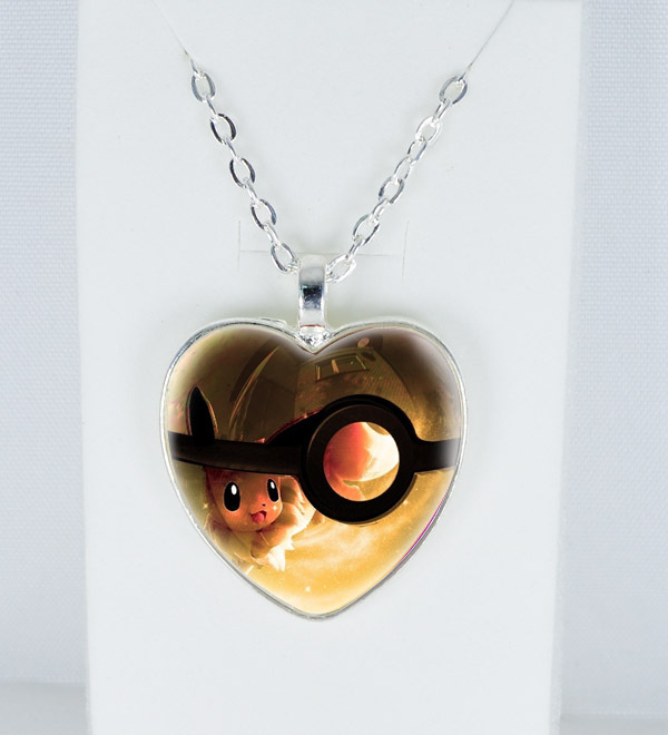 Pokeball Pokemon Necklace Custom pictures Pendant Jewelry charm necklace Christmas gift - LXF1860 store