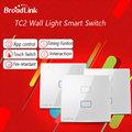 Broadlink EU Standard TC2 Wifi Switch 1 2 3 Gang Wireless Remote Switch Smart Home Wifi