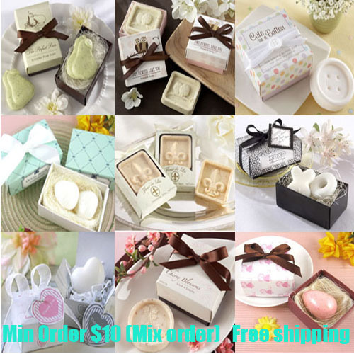 Mini Soap Gifts For Wedding Party Decoration Soap Gift Rose Heart Love ...