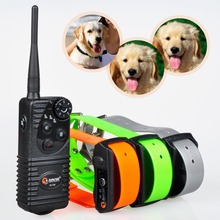 At-216s погружной аккумуляторная кинологический воротник 600 ярд пульт дистанционного управления для 3 собак бесплатная доставка