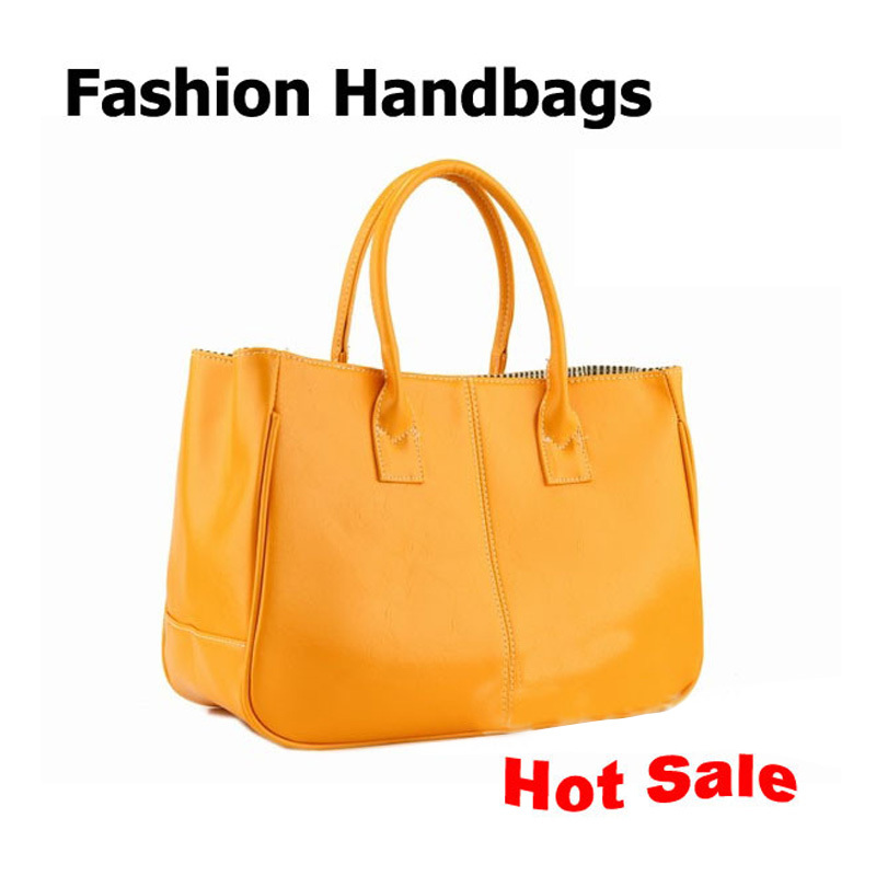 Hot Sale! Lady PU Leather Bag Women Bags Handbag Ladies Totes 10 Ccolors Optional(China (Mainland))