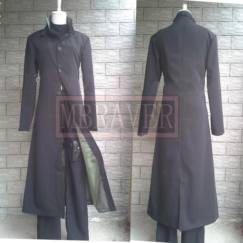Darker Than Black Hei Cosplay Costume Black Men's Costume