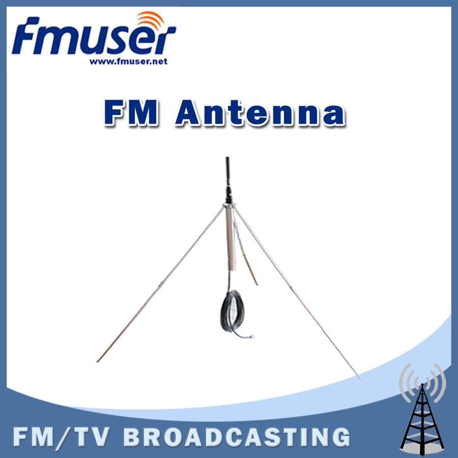 Free shipping FMUSER GP100 1/4 wave Professional GP Antenna for 5w,7w,15w,30w,50w,100w FM Transmitter(China (Mainland))
