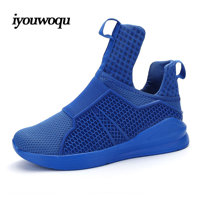 Top Quality Brands Men Sneakers Shoes 2016 New Arrivals Solid Breathable Mesh Outdoor Sports Running Shoes for Men Red White(China (Mainland))