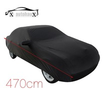 470cm Stormproof Waterproof Breathable Black CAR COVER Durable Outdoor Indoor Discount 50(China (Mainland))