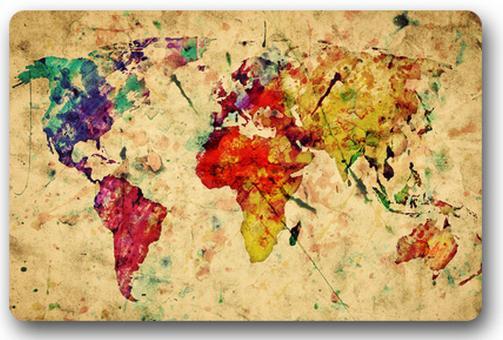 Livraison gratuite couleur personnalis e carte du monde - Code livraison gratuite maison du monde ...