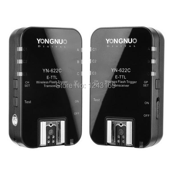 Фотография Yongnuo YN-622C Wireless TTL Flash Trigger for Canon 550D 500D 1100D 1000D LF236