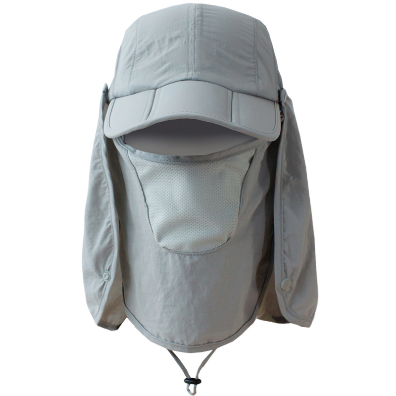 Unisex Pratical Sun UV 360 Degree Collapsible Protective Hat Windproof Quick-Drying Outdoor Sports Cap for Spring and Summer(China (Mainland))