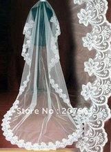 Free shipping :2012 bridal veil (white&ivory )wedding dress accessories(China (Mainland))