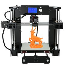 2016 Latest Big 220*220*240mm Impressora Precision Reprap Prusa i3 DIY kit 3d Printer with 10M Filament 8GB SD Card/LCD For Free