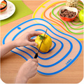 Multicolor portable Cutting Board chopping block ultra thin non slip frosted anti bacterial chopping block kitchen