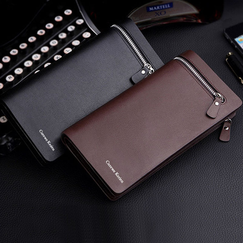 New bifold men wallet brand famous mens leather long wallet clutch new bifold men wallet brand famous mens leather long wallet clutch male money purse id card holder carteira masculina stylemakerz online store and blogs colourmoves