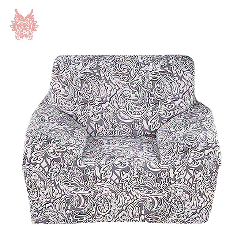 FREE SHIP grey/coffee floral print1SEAT 2SEAT 3SEAT 4SEAT pastoral pattern living room Universal Elastic force Sofa cover SP1889