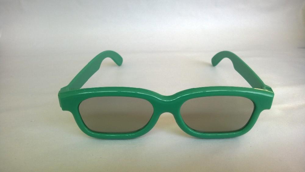 20pcs/lot пассивные поляризованные детские 3d очки пластиковые рамы очки для детей 3d поляризованные