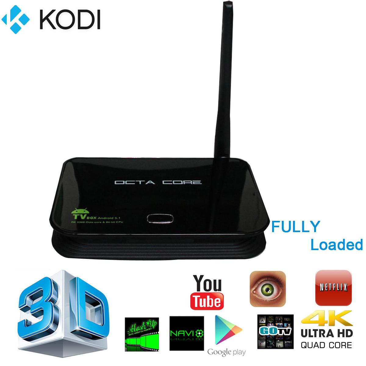 Z4 RK3368 Octa Core KODI Android 5.1 TV Box Wifi Lan 64Bit Bluetooth XBMC Set Top Smart Media Player 2GB/16GB UK AH099(China (Mainland))